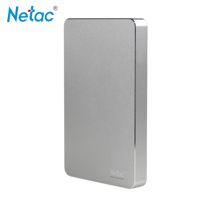 Netac Original K330 USB3.0 External Hard Drive Disk 2TB 1TB 500GB HDD Metal Housing HD Hard Disk With retail packaging(China (Mainland))