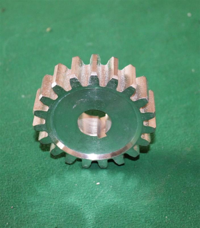steel gear pinion for sliding gate motor M4 19 teeth 21mm in internal diamter 86mm in external diameter(China (Mainland))