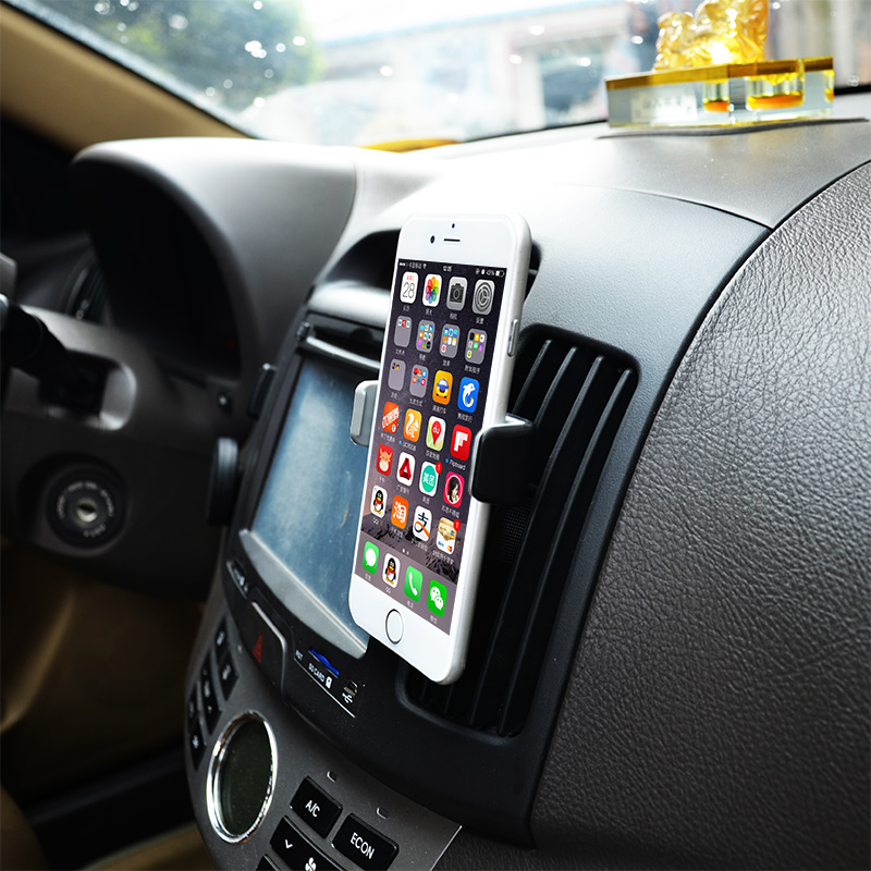 Universal Car Air Vent Phone Holder in Car Mobile Phone Holder for iPhone Samsung xiaomi redmi note 2 lenovo(China (Mainland))