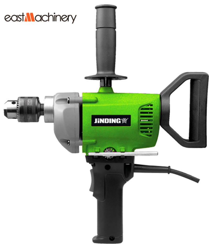 how to use a electric hand drill