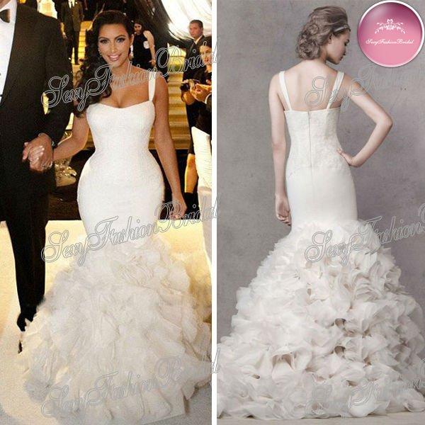 Kim Kardashian Wedding Dress 2