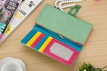 Clutch Checkbook Change Bag Women s Purse Handbag Ladies Wallet Cute Candy Color