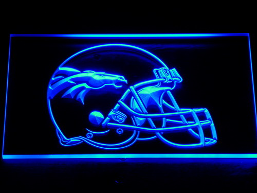 237 Denver Broncos Helmet Bar Pub LED Neon Sign with On/Off Switch 7 Colors to choose(China (Mainland))