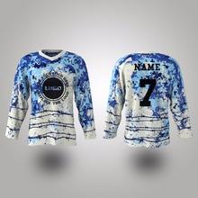 HOT SELL custom printed stylish ice hockey jersey(China (Mainland))
