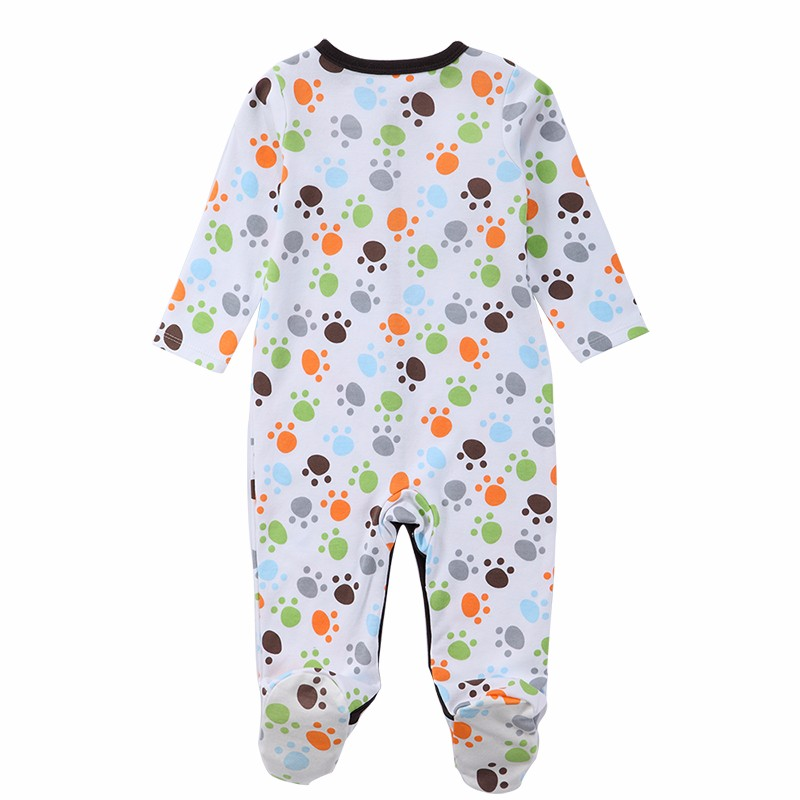 Luvable Friends WinterSpring Baby Pajamas Baby Romper Infant Jumpsuit Overall Long Sleeve Body Suit Baby Clothing (9)