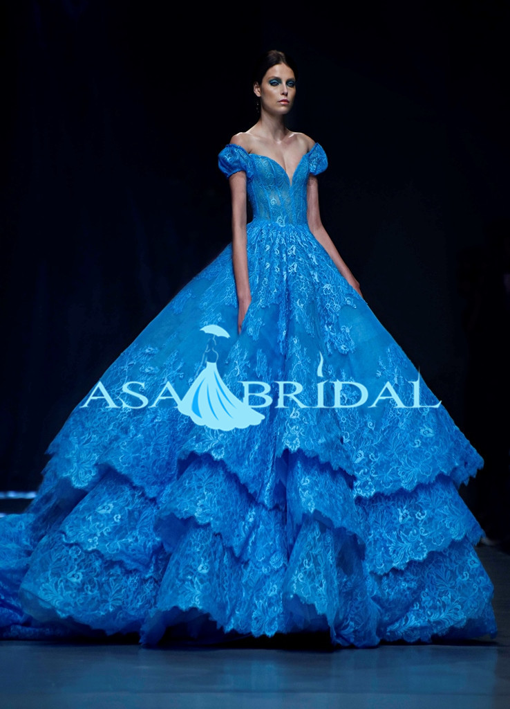 Popular Royal Blue Ball Gown Wedding Dresses-Buy Cheap Royal Blue ...