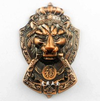 2015 sale real doors handle door drawer pull antique chinese clearance  head knocker shoutou 17.5cm free shipping promotion