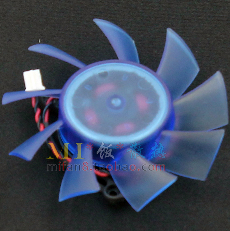 FirstD FD7015H12S 65mm DC 12V 0.43AMP 2 Wire Computer Video Card Cooler Fan radiator Replace For ASUS HD5770 Graphics(China (Mainland))
