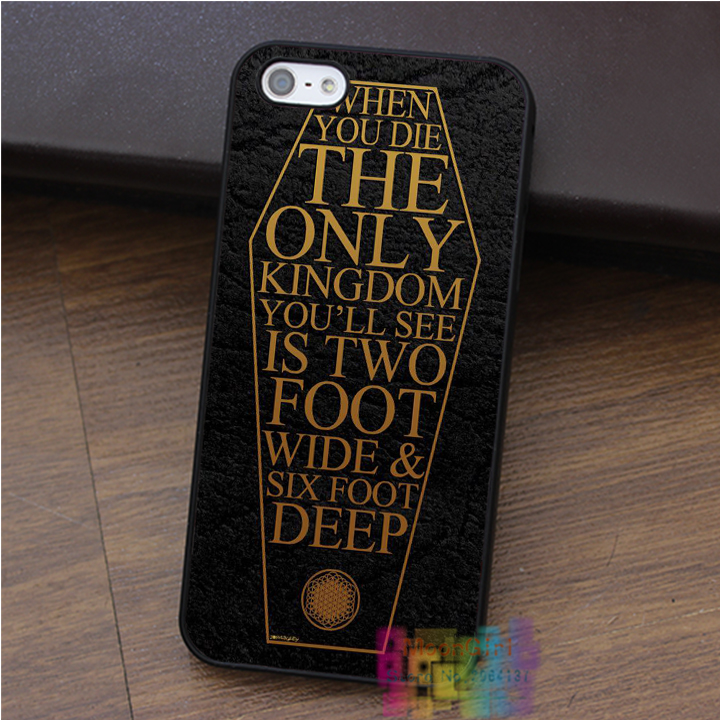 BRING ME THE HORIZON COFFIN THE HOUSE OF WOLVES phone case for iphone 4 4s 5 5s 5c SE 6 6s 6 plus 6s plus 7 7plus #ey113(China (Mainland))