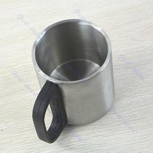 Free Shipping Stainless Steel Coffee Mug Tumbler Camping Mug Double Wall Bilayer Cup Freeshipping