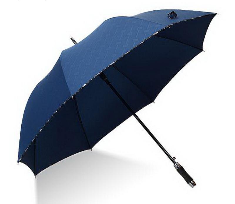 Semi-automatic Golf umbrella /longhandled umbrella/ straight shank Large umbrella surface/Exquisite package edge/tb181104(China (Mainland))