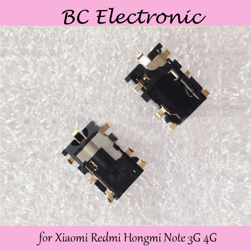 for Xiaomi Redmi Hongmi Note 3G 4G Earphone Headphone Audio Jack Replacement Wholesale Repair Parts;5PCS/LOT