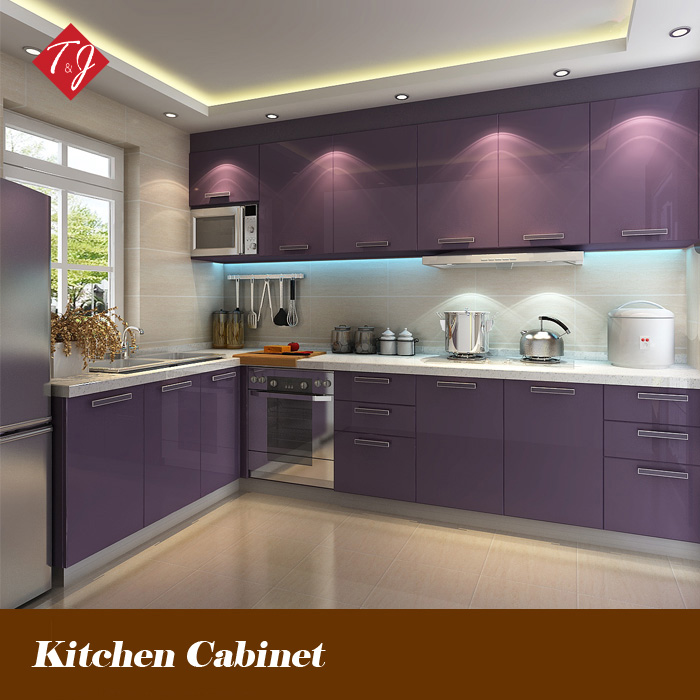 Online buy wholesale l shaped modular kitchen designs from for Kitchen cabinets online india
