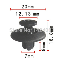 Buy 20x OEM Nylon Panel Wheel Moulding Push-Type Retainer Clip Toyota 92 ON T100 90467-07044 9046707044 for $5.99 in AliExpress store