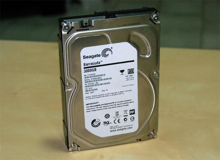 Free shipping ST3000DM001 3T 3TB Seagate hard drive desktop computer USB3.0 genuine(China (Mainland))