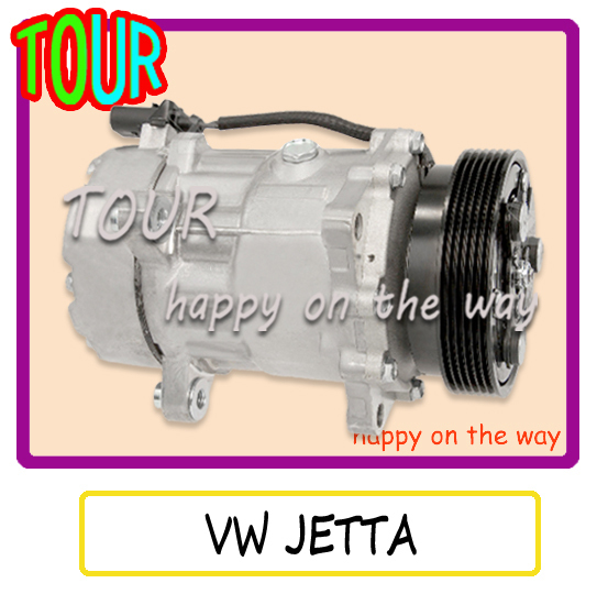For SANDEN 7V16 VW JETTA AC Compressor VOLKSWAGEN JETTA 2000 2001 2002 2003 2004 2005(China (Mainland))