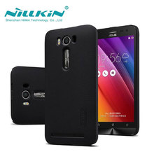 ASUS Zenfone 2 Laser ZE550KL Case Nillkin Frosted Shield Case For ASUS Zenfone 2 Laser ZE550KL 5.5 inch Gift Screen Protector(China (Mainland))