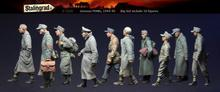 Stalingrad S-3570 German Pows 1944-45 Big set include 10 figures 1/35 Resin Model Kit  Free Shipping(China (Mainland))