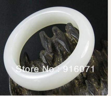 Natural white jade bracelet jade bracelet suet level jade