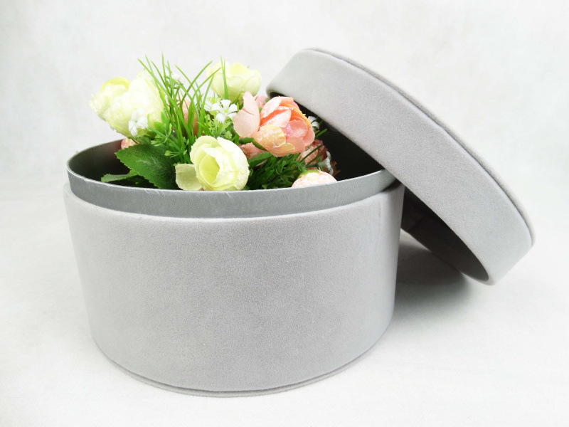 21X12.5cm Import velvet immortality soap flower box of handmade gifts of flowers on valentine's day gift box(China (Mainland))
