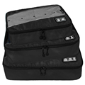 3 Pcs Travel Packing Cubes Organizer Lightweight Organiser Breathable Travel Packing Cubes Carry on Travel Luggage