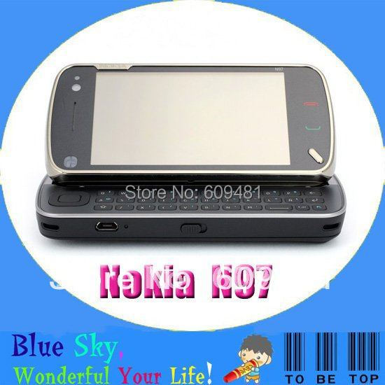 Swiss post free shipping original nokia N97 mobile phone best quality(China (Mainland))