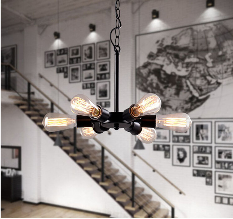 The New Chinese Style Pendant Lamp Wrought Iron Giant Wheel Chandelier  Restaurant Decoration Foyer Burner  Free Shipping<br><br>Aliexpress