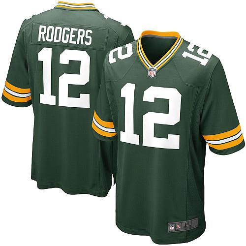 Aaron Rodgers Jerseys NFL Game Football Jersey - Green(China (Mainland))