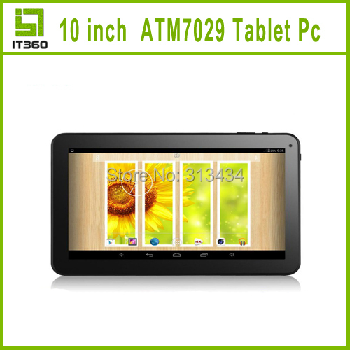 New 10 inch ATM7029 Quad core Android 4 2 Tablet PC With Capacitive Screen HDMI WIFI