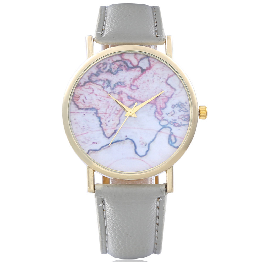 10pcs new women men vintage earth world map watch alloy germany set new women men vintage earth world map watch gumiabroncs Image collections