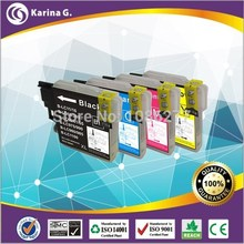 10x Compatible Ink Cartridge for Brother LC 985 LC975 LC67 LC1100 LC980 XL Ink Cartridge for Brother DCP 185C 195C 9805C Printer(China (Mainland))