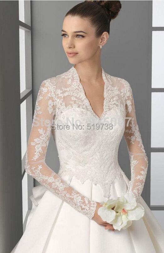 Amazing Long Sleeve Jacket For Wedding Dress Bella Forte Glass Studio With Lace Bolero