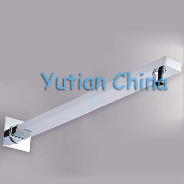 Free shipping 37CM length Brass Shower Arm for Shower Head chrome color Chuveiro YT-5114(China (Mainland))