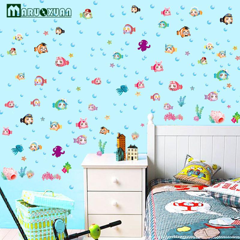Promoci n de muebles de jard n de infantes compra for Pegatinas de peces