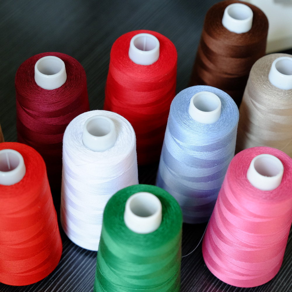 Hilo de algodón abrigos 5x 50 5x100m Herramienta de Costura Artesanía Hobby Art Reino Unido 4648
