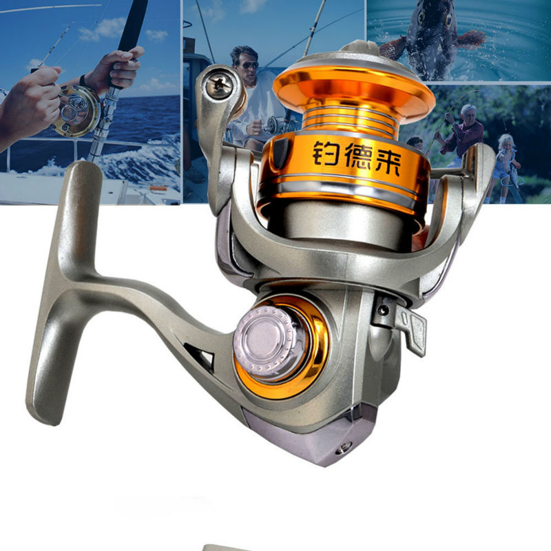 2016 Mini Reel To Spinning High Speed 5.2:1 Fly Ice Rock Fishing Gear Wheels Super German Stainless Steel Fish Metal Reels(China (Mainland))