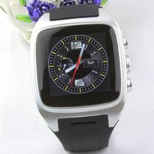 3G WCDMA WiFi Android Phone Smartwatch PW306 with Camera GPS Bluetooth Dual-core Smart Wear Watches Mp3 Play Wristwatch S16