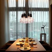 40W E27 Minimalist Modern Pendant Light Lamp with 7 Lights Free Shipping(China (Mainland))