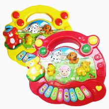 1PC New Useful Baby Kid Musical Educational Animal Farm Piano Music Toy Developmental High Quality l3bS(China (Mainland))