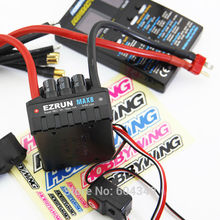 HOBBYWING EZRUN MAX8 T plug RC Model Brushless Motor waterproof 150A ESC Speed Controller T plug+program card(China (Mainland))