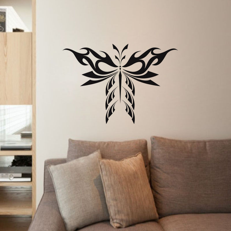 Butterfly Art Wall Sticker Family Wall Decor Animal Bird Wall Decals Kids Room free shipping(China (Mainland))