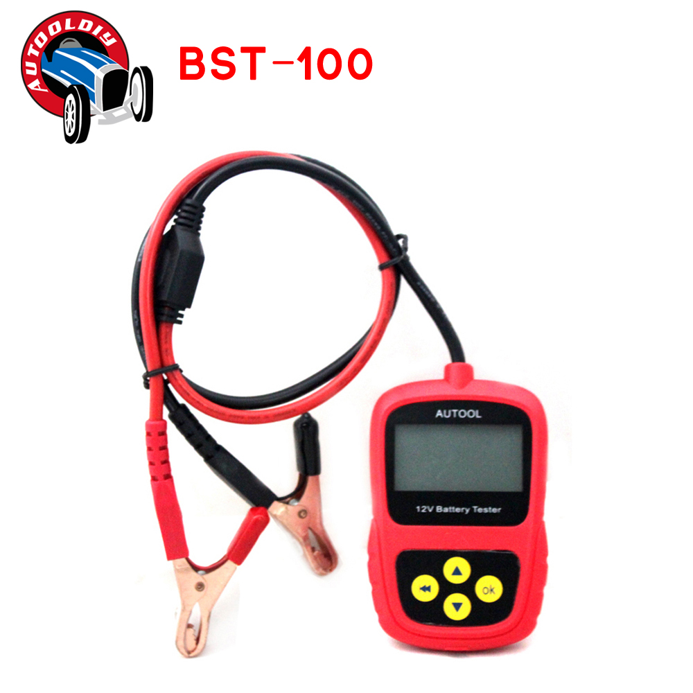 2016 Hot Sale Autool BST-100 Car Battery Tester Vehicle battery tester Auto battery analyzer Multi-language Free Shipping(China (Mainland))
