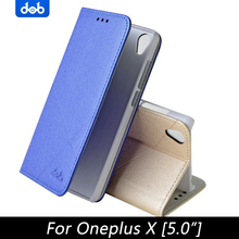 oneplus x case cover leather luxury cube flip 4 style oneplusX phone dob70 - MUAN Store store