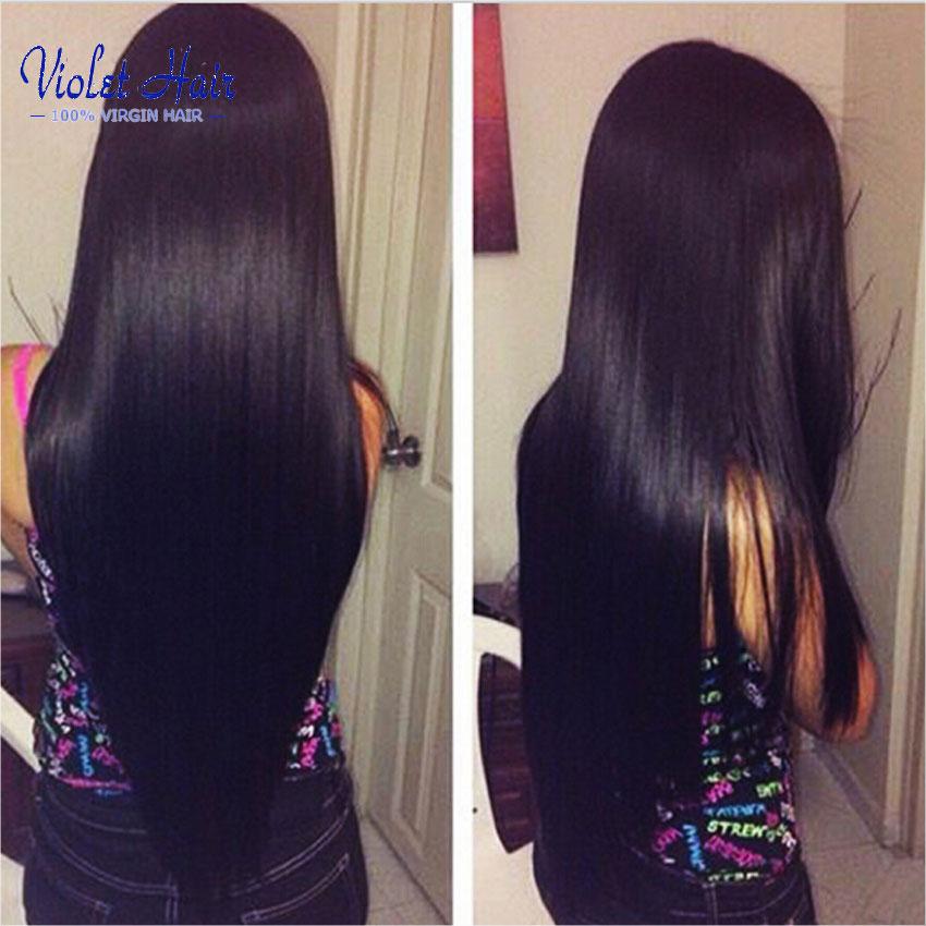 Здесь можно купить  7A Unprocessed Indian Virgin Hair Straight 3 Bundles per lot 100g/3.5oz Human Hair Straight Hair Natural Black Mario Hair Wowigs  Волосы и аксессуары