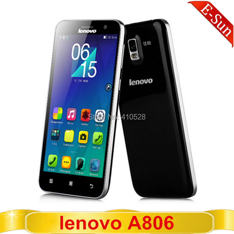 """Original Lenovo A806 4G LTE FDD MTK6592 Octa Core 1.7GHz Android 4.4 Mobile Phone 5.0"""" IPS 1280x720 13.0MP 2GB RAM 16G ROM(China (Mainland))"""