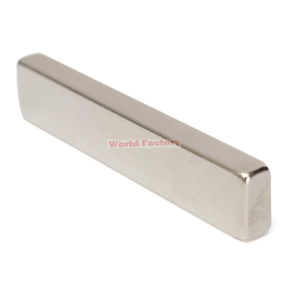 2 шт/много _ N50 в 50x10x5mm сильная длинный блок Магнит редкоземельный неодимовый Магнит