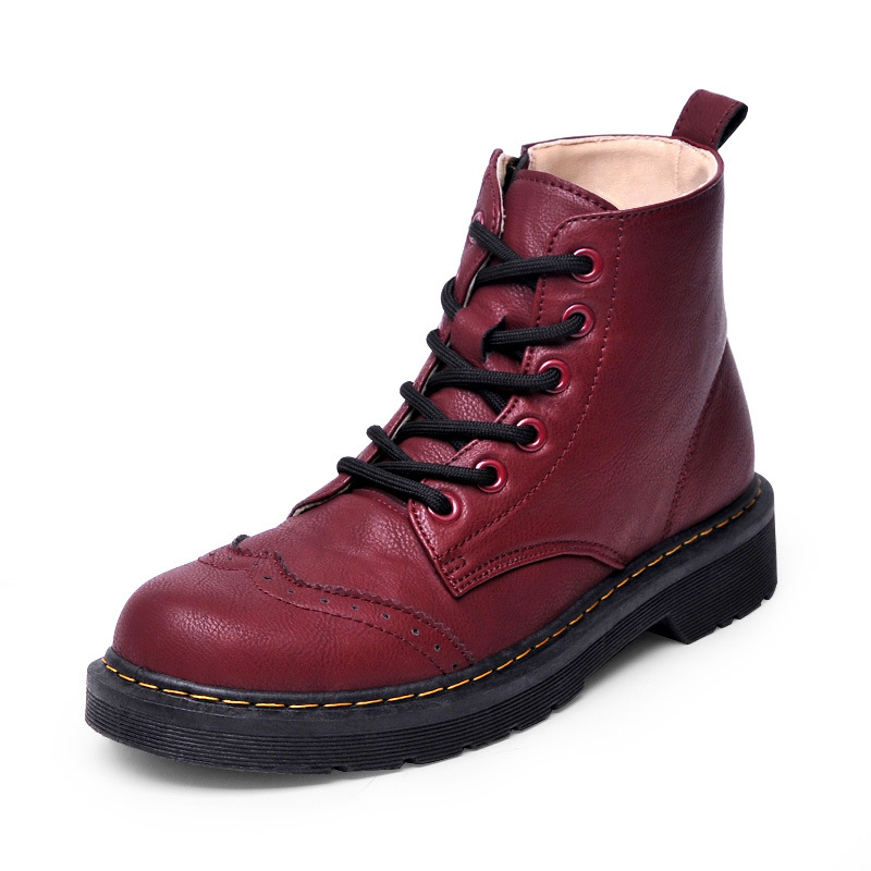 2016 Women Ankle Boots Fashion Martin Boots Snow Boots Outdoor Casual Cheap Timber Boots Autumn Winter Round Toe Lover Shoes(China (Mainland))