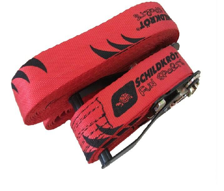 12M x w50mm(40feetx w 2in) Slackline outdoor sport and fun balance training slack line trainer rope