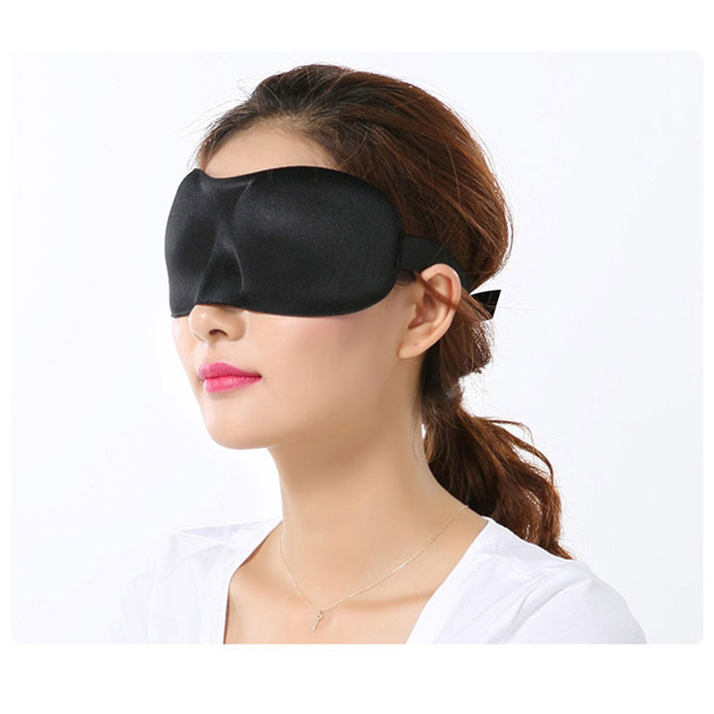 2PCS Eye Sleeping Mask cotton Blindfold Soft Eye Shade Nap Cover Blindfold Sleeping Travel Rest Unisex Soft Eye Mask Shade Cover