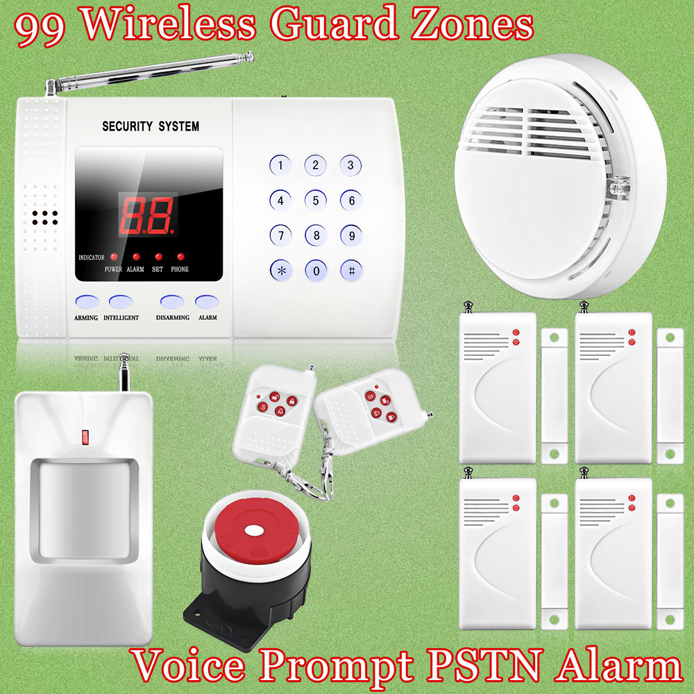 Hot Sale!New Wireless PIR Home Security Burglar Alarm System Auto Dialing Dialer Easy DIY + Free with tracking number<br><br>Aliexpress